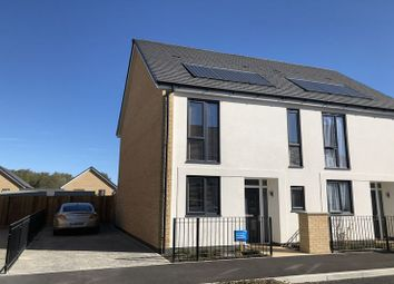 Thumbnail 2 bedroom semi-detached house for sale in Mottershead Avenue, Locking, Weston-Super-Mare