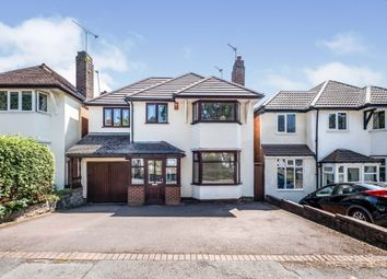 Thumbnail 4 bed detached house for sale in Doveridge Road, Hall Green, Birmingham