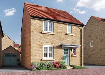 "Thumbnail 3 bedroom detached house for sale in ""The Elliot"" at Isemill Road, Burton Latimer, Kettering"