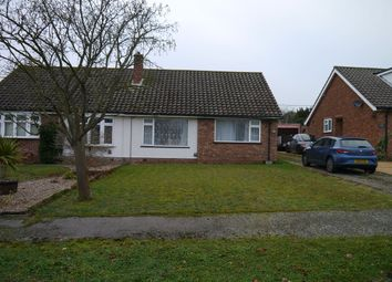 Thumbnail 2 bedroom bungalow to rent in Valley Close, Brantham, Manningtree, Essex