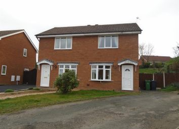 Thumbnail 2 bed semi-detached house for sale in Oriel Way, Shrewsbury