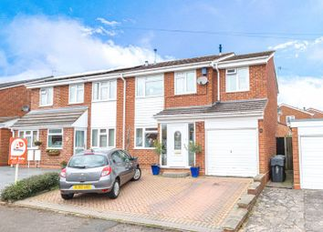 Thumbnail 4 bed semi-detached house for sale in Waltham Close, Bromsgrove