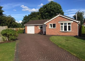 Thumbnail 2 bed bungalow to rent in Waverton Close, Hough, Crewe, Cheshire