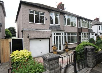 Thumbnail 4 bed semi-detached house to rent in Brodie Avenue, Mossley Hill, Liverpool