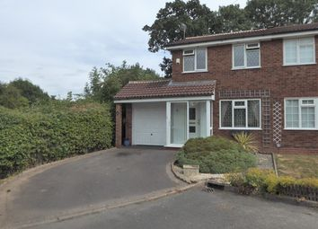 Thumbnail 2 bed semi-detached house for sale in Open Field Close, Birmingham