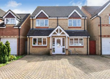 Thumbnail 4 bed detached house for sale in Wensum Road, Stevenage, Hertfordshire