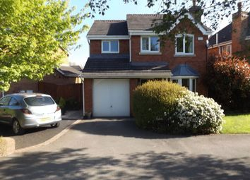 Thumbnail 3 bed detached house for sale in Westbury Drive, Pandy, Wrexham