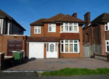 Thumbnail 4 bed detached house for sale in Wemborough Road, Stanmore