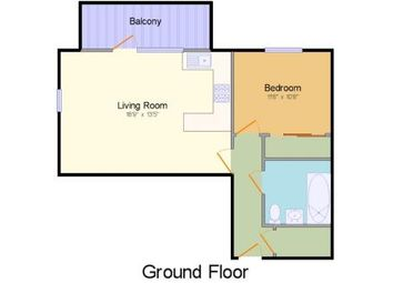 Thumbnail 1 bed flat for sale in West Tower, The Peninsula, Victory Pier, Gillingham, Kent