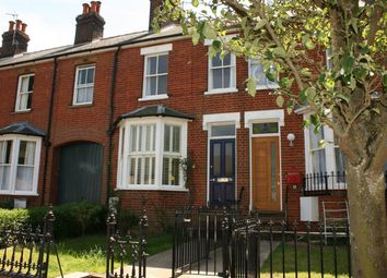 Thumbnail 3 bed terraced house for sale in York Road, Bury St. Edmunds