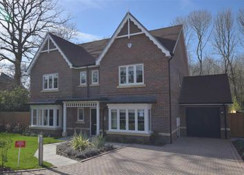 Thumbnail 4 bedroom detached house for sale in Oakview, Horsham, West Sussex