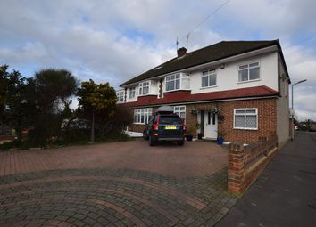 Thumbnail 5 bed semi-detached house for sale in Pettits Lane, Gidea Park, Romford