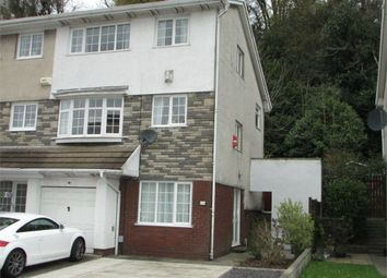 Thumbnail 5 bedroom end terrace house for sale in Woodlands Park Drive, Cadoxton, Neath, West Glamorgan