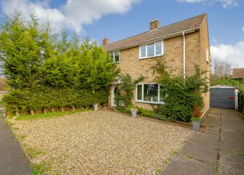 Thumbnail 3 bedroom semi-detached house for sale in The Orchard, Fen Drayton, Cambridgeshire, Cambridgeshire