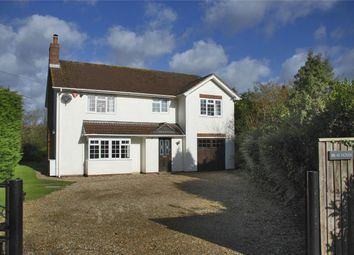 Thumbnail 4 bed detached house for sale in Main Road, Portmore, Lymington, Hampshire