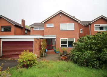 Thumbnail 4 bed detached house for sale in Traws Fynydd, Brackla, Bridgend.