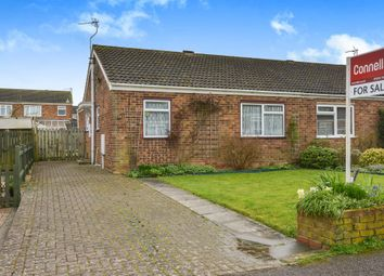 Thumbnail 3 bedroom semi-detached bungalow for sale in Eastfield Drive, Hanslope, Milton Keynes