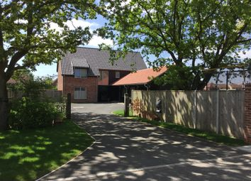 Thumbnail 5 bed detached house for sale in The Chestnuts, Pople Street, Wymondham