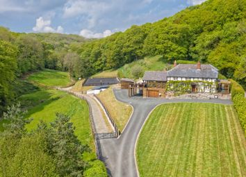 Thumbnail 4 bed detached house for sale in Guilsfield, Welshpool, Powys