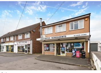Thumbnail Retail premises for sale in 54 Guildford Road, Lightwater