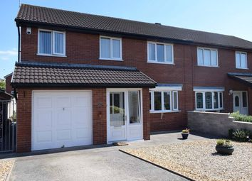 Thumbnail 4 bedroom semi-detached house for sale in Austin Close, Newton, Porthcawl