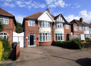 Thumbnail 3 bed semi-detached house for sale in Wyngate Drive, Western Park, Leicester