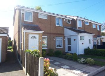 Thumbnail 2 bed end terrace house for sale in Beechwood Close, Forest Town, Mansfield, Nottinghamshire