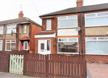 Thumbnail 2 bed end terrace house for sale in Swaledale Avenue, Hull