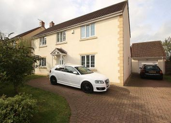 Thumbnail 4 bedroom detached house for sale in The Orchards, Meare, Glastonbury