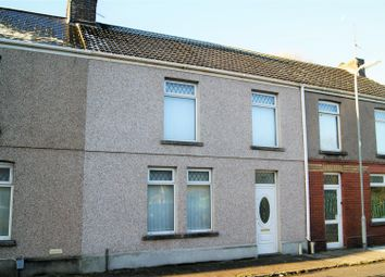 Thumbnail 3 bed terraced house for sale in Pendarvis Terrace, Aberavon, Port Talbot
