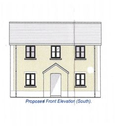 Thumbnail 3 bed detached house for sale in Opposite 265, Cwmamman Road, Glanamman, Ammanford, Carmarthenshire.