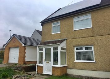 Thumbnail 3 bed semi-detached house for sale in Bevan Crescent, Ebbw Vale