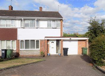 Thumbnail 3 bed semi-detached house to rent in Hamilton Drive, Wordsley, Stourbridge