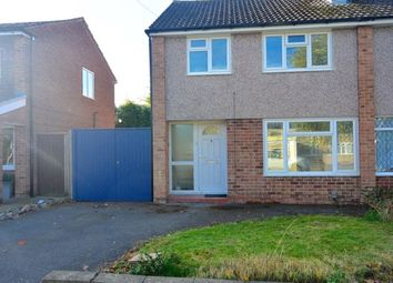 Thumbnail 3 bed semi-detached house to rent in Priory Walk, Leicester Forest East, Leicester