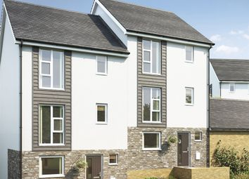 """Thumbnail 4 bed semi-detached house for sale in """"The Wolvesey"""" at Tollgate Road, Bodmin"""