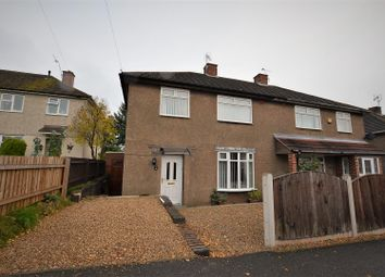 Thumbnail 3 bedroom semi-detached house for sale in Finchley Avenue, Mackworth, Derby