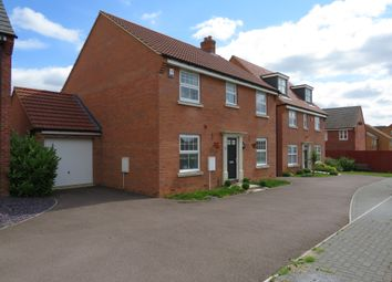 Thumbnail 4 bed detached house for sale in Clarendon Close, Corby