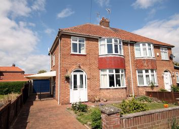 Thumbnail 3 bed semi-detached house for sale in Rawcliffe Croft, Rawcliffe, York