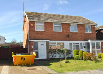Thumbnail 3 bed semi-detached house for sale in Spruce Close, Eastbourne