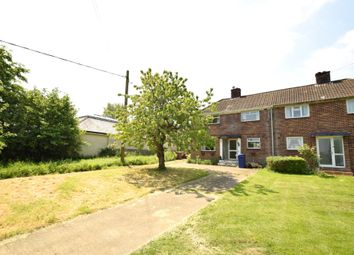Thumbnail 3 bed semi-detached house for sale in Bradley Road, Thurlow, Haverhill