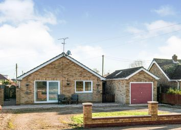 Thumbnail 3 bed detached bungalow to rent in Station Road, Hockwold, Thetford