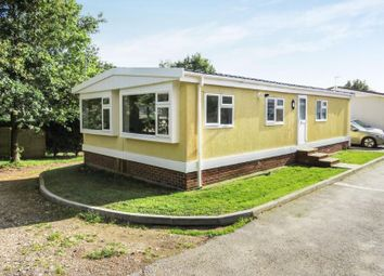 Thumbnail 3 bed mobile/park home for sale in Weston Hill Park, Derby, Derbyshire