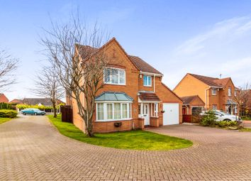 Thumbnail 4 bed detached house for sale in Elmwood Court, Worksop