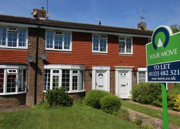 Thumbnail 3 bed terraced house to rent in Lynholm Road, Polegate