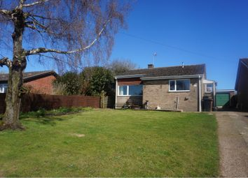 Thumbnail 3 bed detached bungalow for sale in Priory Close, Sporle, King's Lynn