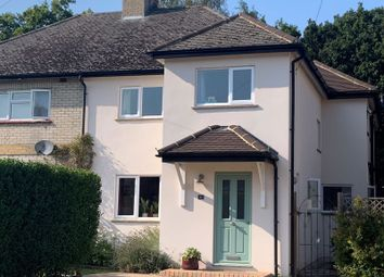 Thumbnail 4 bed semi-detached house for sale in Bourne Road, Virginia Water