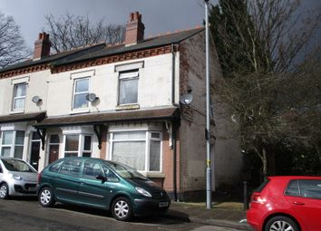 Thumbnail 3 bedroom end terrace house for sale in Factory Road, Handsworth