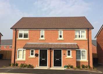 "Thumbnail 2 bed end terrace house for sale in ""The Alnwick "" at Bawler Road, Monkton Heathfield, Taunton"