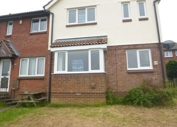Thumbnail 2 bed terraced house to rent in Coleman Drive, Plymouth, Devon