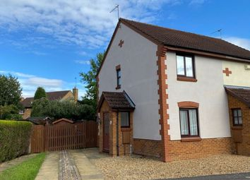 Thumbnail 2 bed semi-detached house to rent in Greeves Close, Duston, Northampton